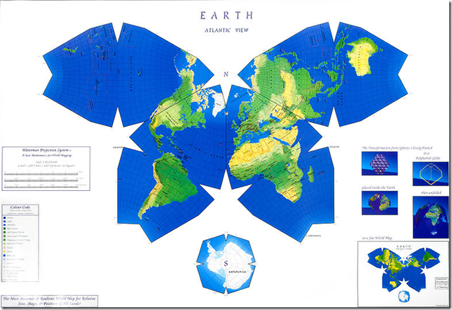 The Most Accurate Flat World Map A Day In The Life Of A Presson